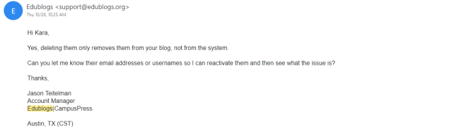edublogs support 1